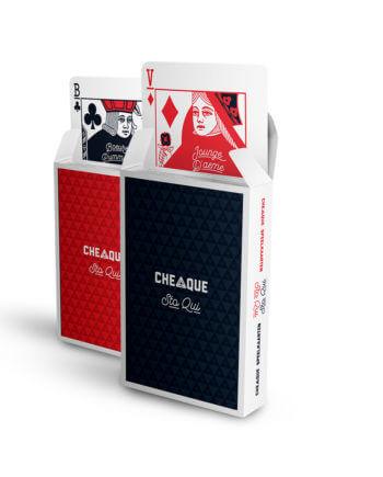 Cheaque - cheaque stoqui 2-pack - Kaartspel - 2pack - Accessoires