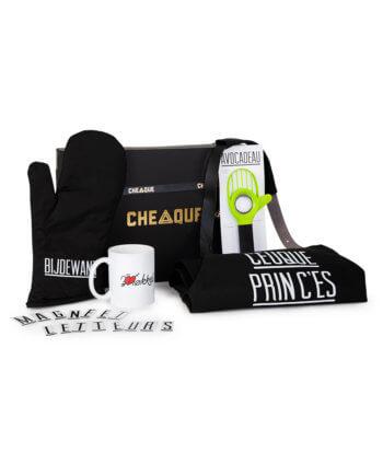 ceuqueprinc'es pakket - Cheaque - cadeaupakketten - keukenprinses