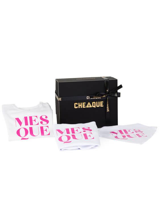 Mesque babypakket - cheaque - cadeaupakketten
