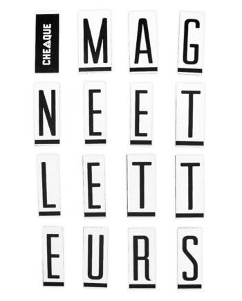 Magneetletteurs - Cheaque - Accessoires