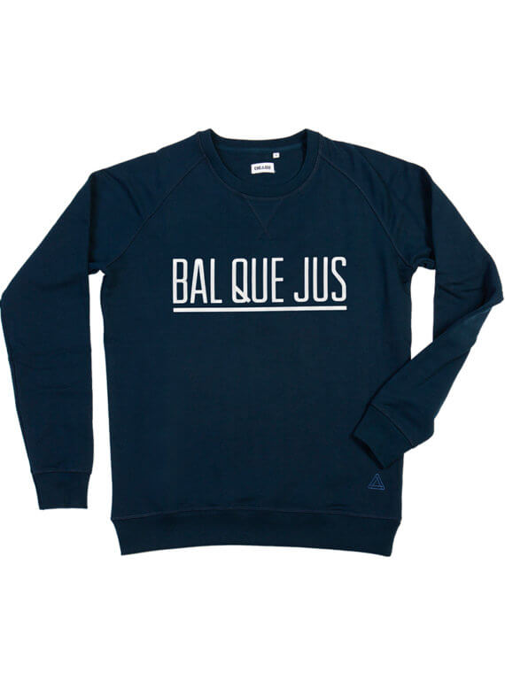 BAL QUE JUS - donkerblauw sweater