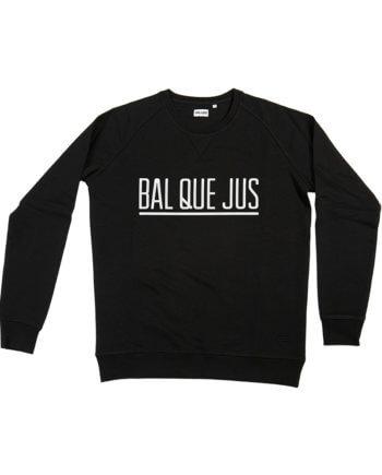 BAL QUE JUS sweater zwart