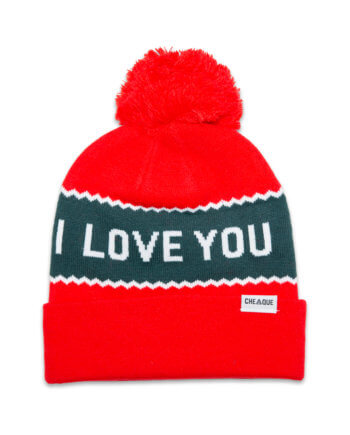 I LOVE YOU VERY MUTS BEANIE