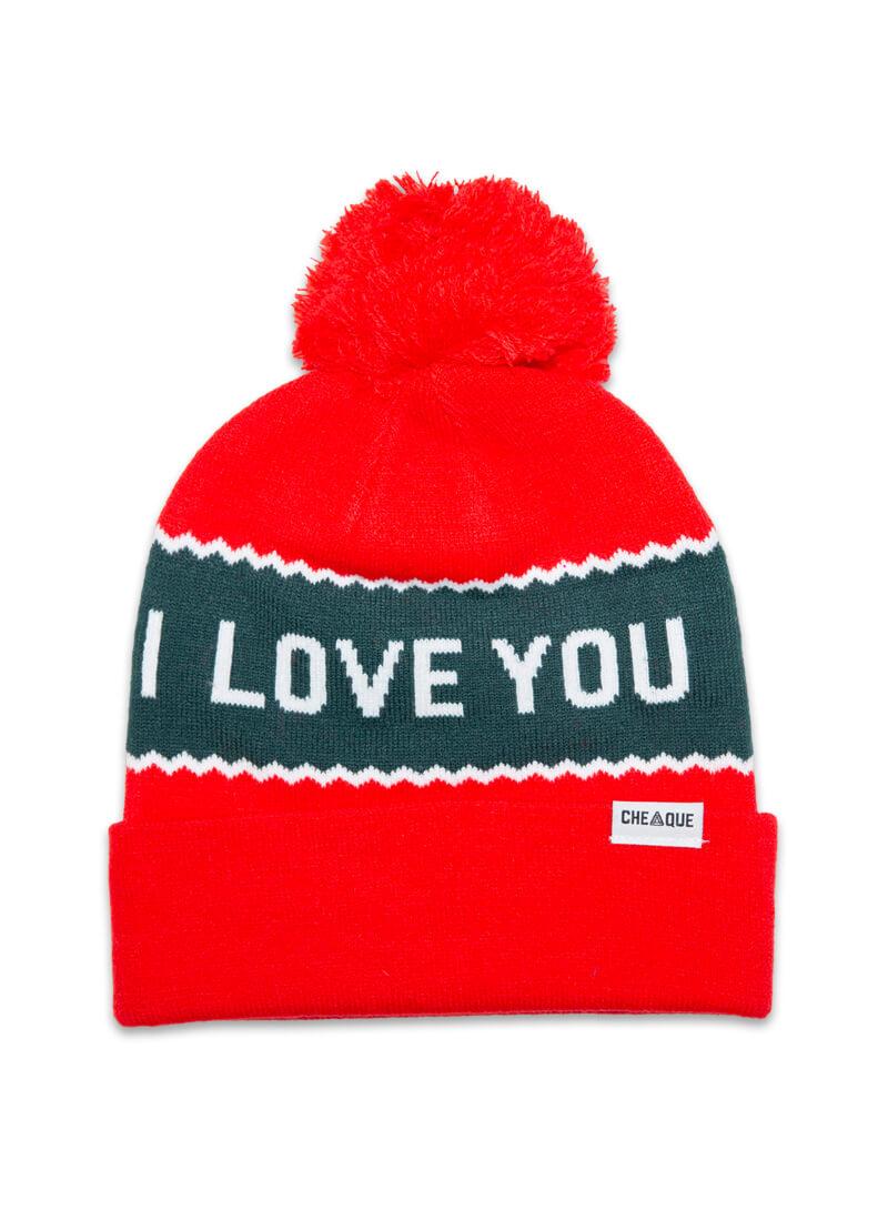 I Love You Very Muts Beanie Voor De Koude Winterdagen Cheaque