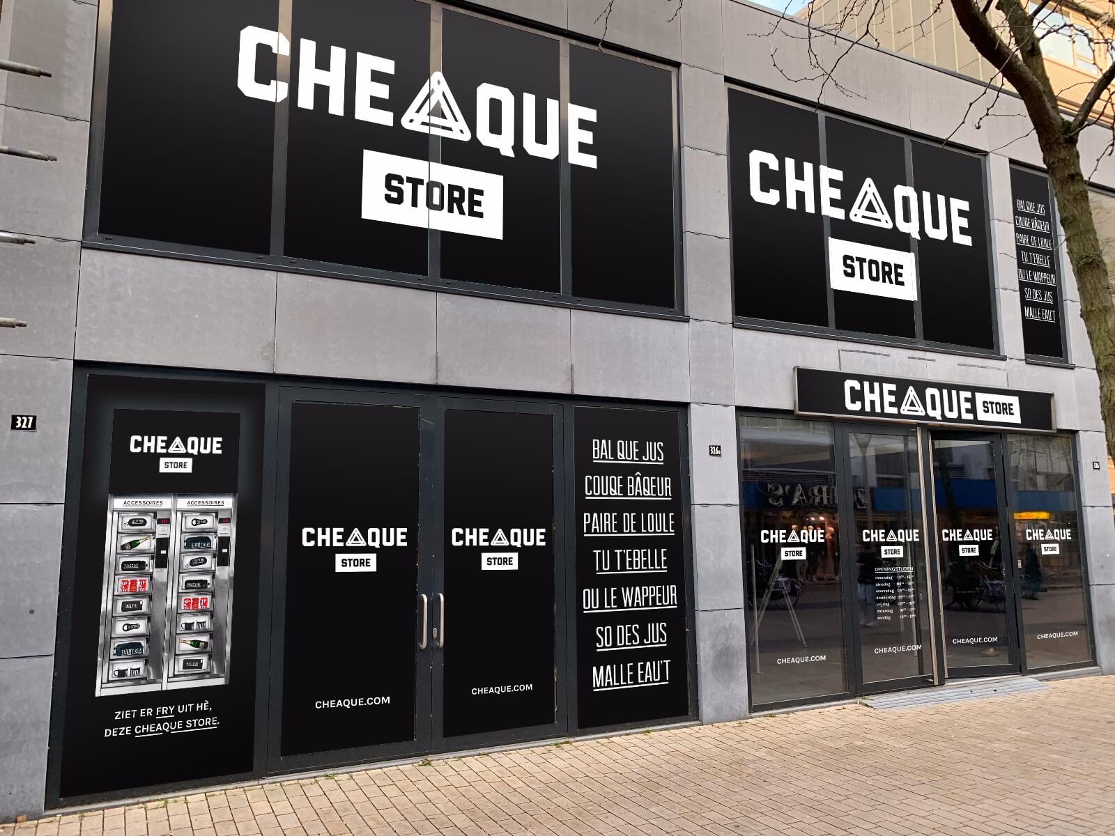 Cheaque Store Tilburg - Cheaque Store - Tilburg