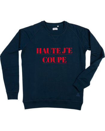 Haute Je Coupe donkerblauw sweater