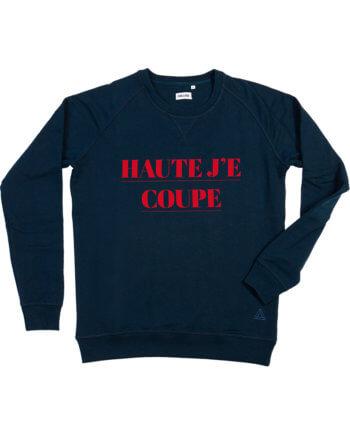 Haute Je Coupe donkerblauw sweater