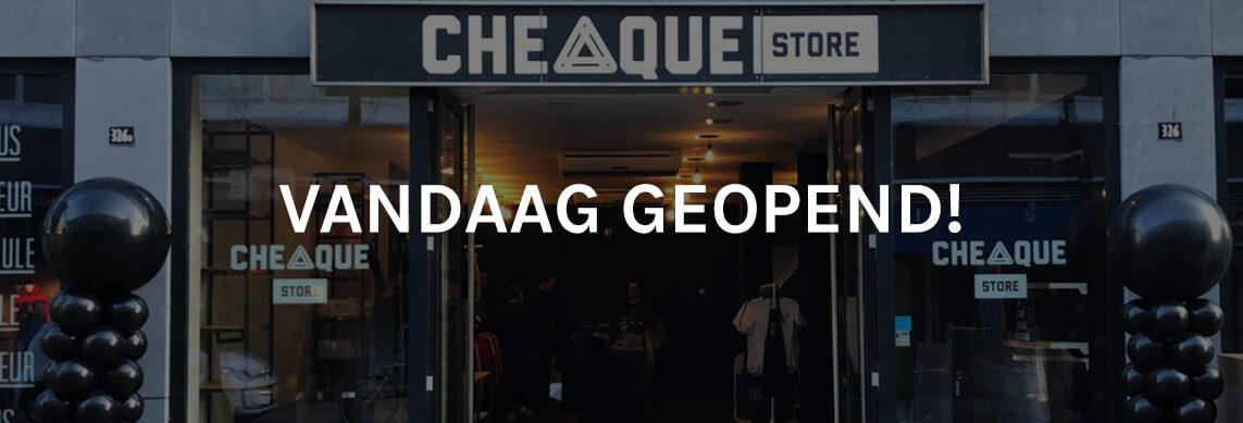 Cheaque Store Tilburg - Cheaque - Vandaag geopend