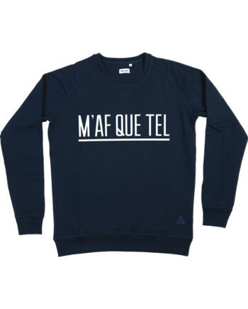 MAFQUETEL DONKERBLAUW SWEATER - Cheaque - sweater