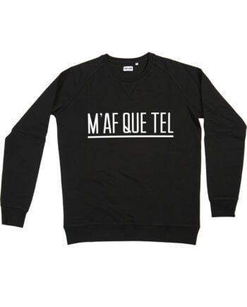 MAFQUETEL ZWART SWEATER - Cheaque - sweater - Mafketel