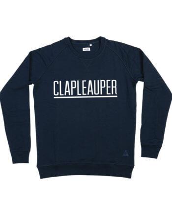 CLAPLEAUPER DONKERBLAUW SWEATER - Clapleauper - Cheaque - week design