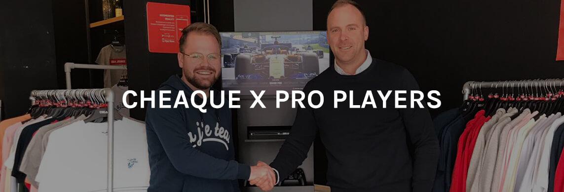 Cheaque en Pro Players slaan de handen ineen