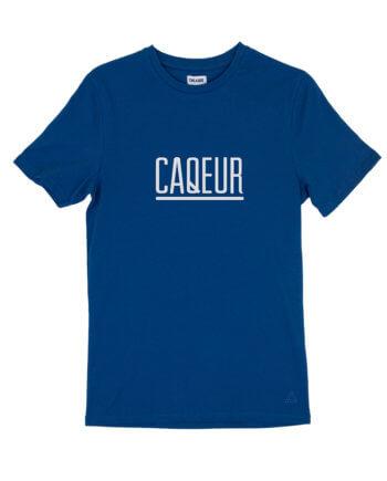 CAQEUR BLAUW T-SHIRT