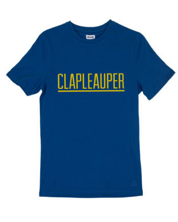 CLAPLEAUPER BLAUW T-SHIRT