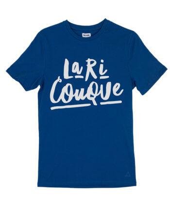 LA RI COUQUE BLAUW T-SHIRT