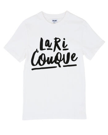 LA RI COUQUE CREME T-SHIRT