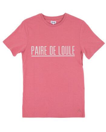 PAIRE DE LOULE DARKROSE T-SHIRT