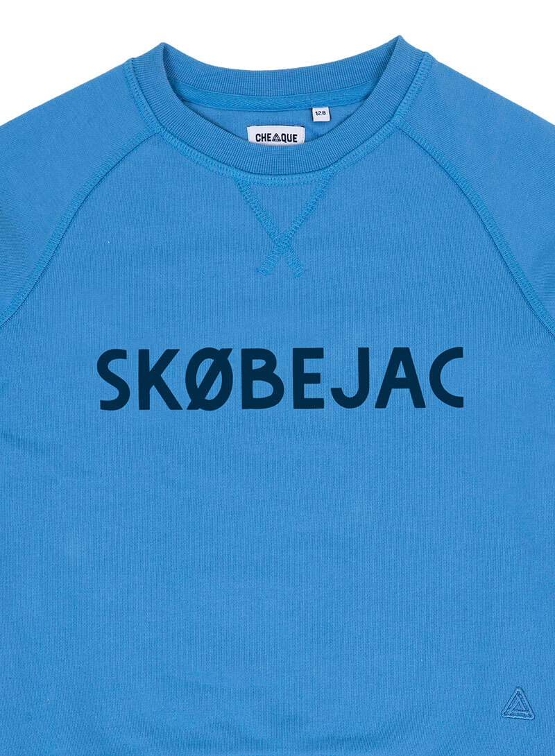 SKOBEJAC BLAUW KIDS SWEATER