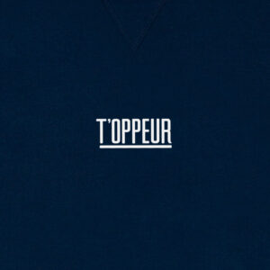 T OPPEUR DONKERBLAUW SWEATER