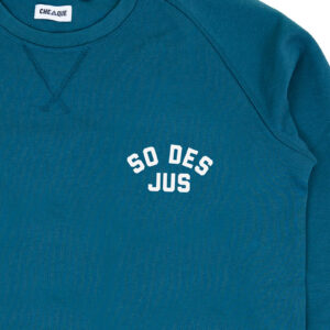 SO DES JUS GRIJSGROEN SWEATER
