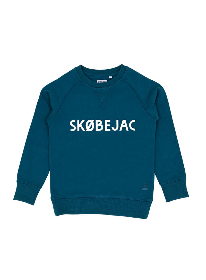 SKOBEJAC GRIJSGROEN KIDS SWEATER