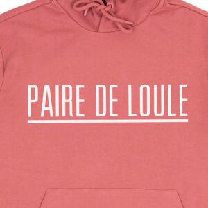 PAIRE DE LOULE STREEP DARKROSE HOODIE