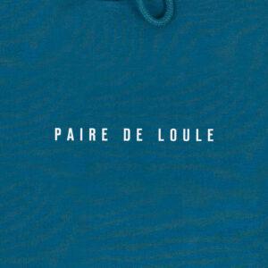 PAIRE DE LOULE GRIJSGROEN HOODIE
