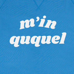 M IN QUQUEL BLAUW SWEATER