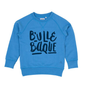 B ULLE BAQUE BLAUW KIDS SWEATER