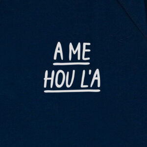 A ME HOU L A DONKERBLAUW SWEATER