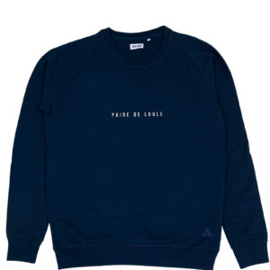 PAIRE DE LOULE DONKERBLAUW SWEATER