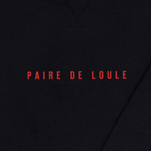 PAIRE DE LOULE ZWART SWEATER