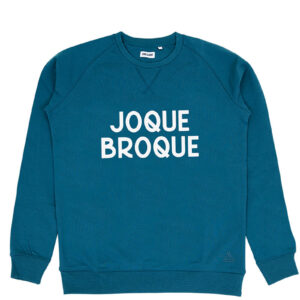 JOQUE BROQUE GRIJSGROEN SWEATER