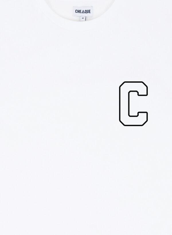 C WHITE TEE