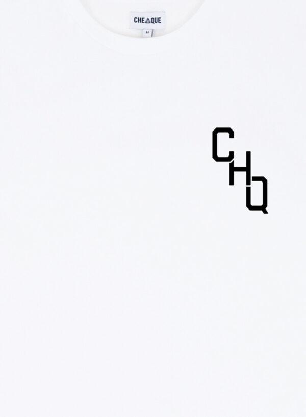 CHQ SMALL WHITE TEE