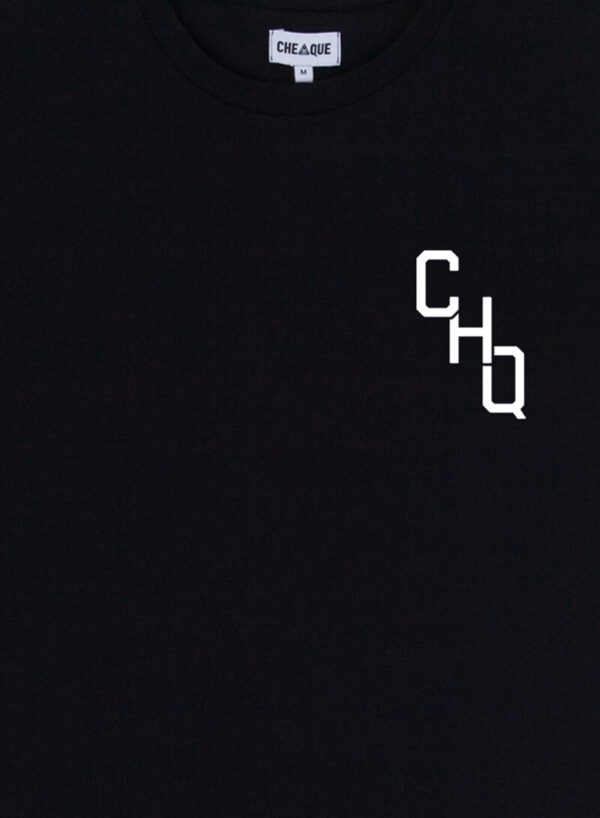 CHQ SMALL BLACK TEE