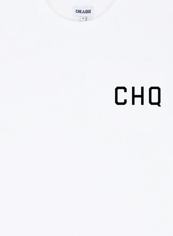 CHQ WHITE TEE