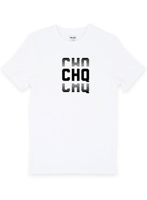 CHQ FADED WHITE TEE