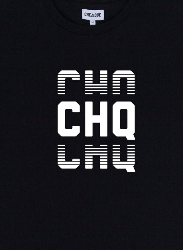 CHQ FADED BLACK TEE