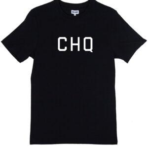 CHQ FULL BLACK TEE