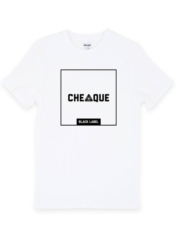 CHEAQUE BLACKLABEL BLOCK WHITE TEE