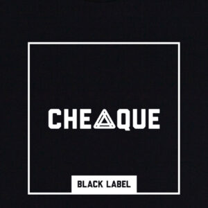 CHEAQUE BLACKLABEL BLOCK BLACK TEE