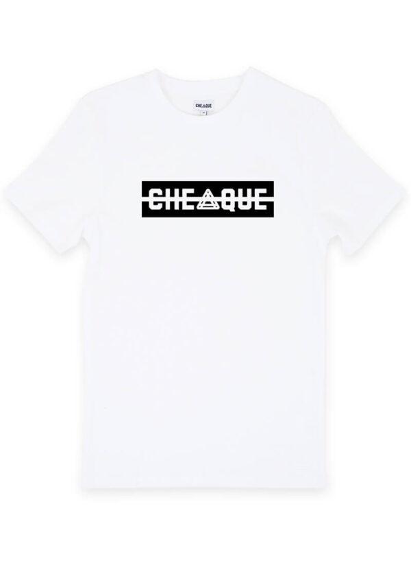 CHEAQUE LOGO WHITE TEE