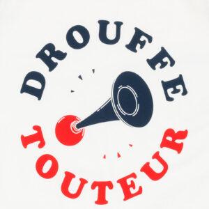 DROUFFE TOUTEUR DONKERBLAUW/WITTE RAGLAN