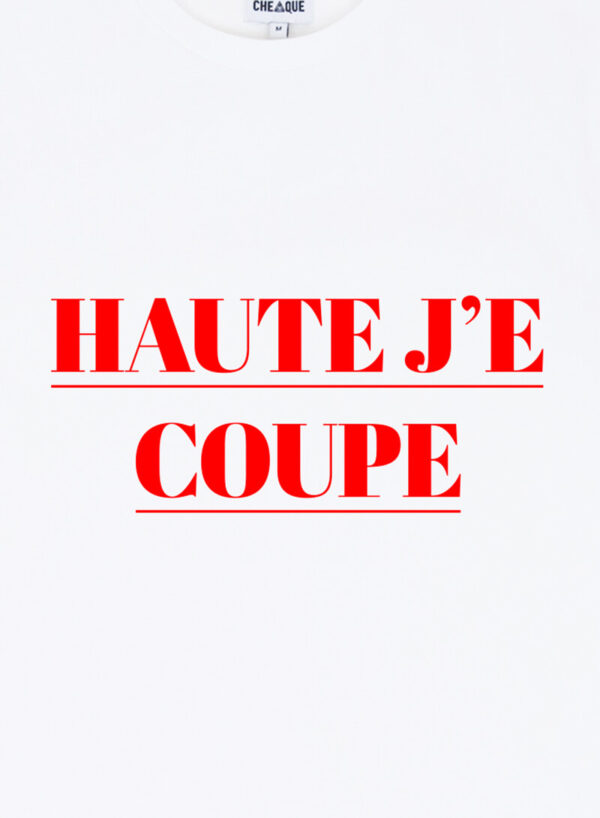 HAUTE JE COUPE WIT