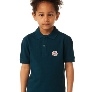 EAUPDONDEURE DONKERBLAUW KIDS POLO