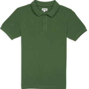 CHEAQUE LOGO GROEN KIDS POLO