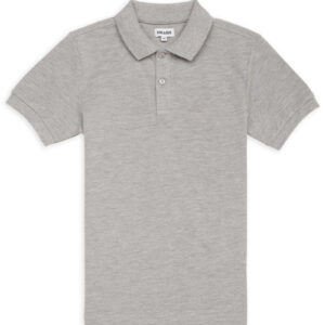CHEAQUE LOGO GRIJS KIDS POLO