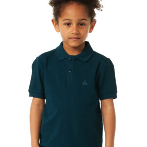 CHEAQUE LOGO DONKERBLAUW KIDS POLO
