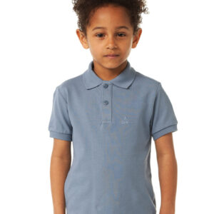 CHEAQUE LOGO PETROL KIDS POLO